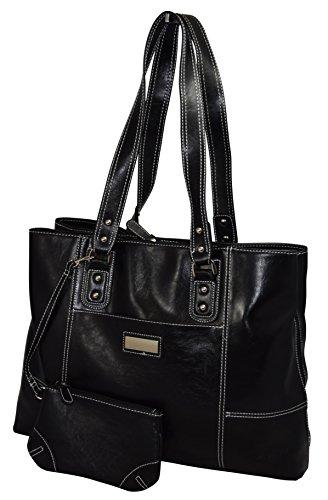 Franklin Covey Women's Business Laptop Tote Bag – Black