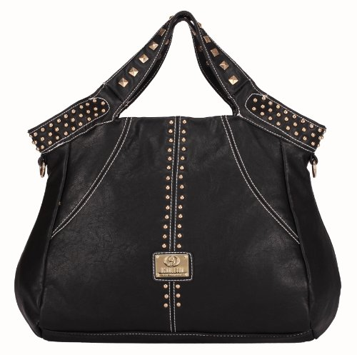 Scarleton Studded Handle Tote Bag H1256