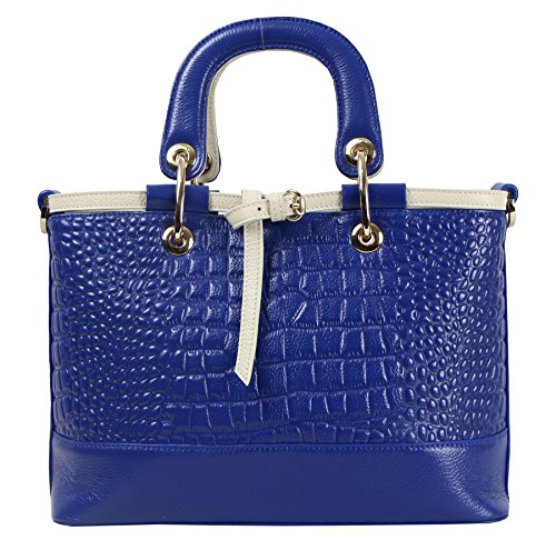Qw 2015 New Office Lady Genuine Leather Crocodile Luxury Fashion Simple Style Tote Top Handle Shoulder Crossbody Bag Satchel Purse Women's Handbag