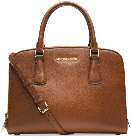 MICHAEL Michael Kors Reese Large Satchel in Luggage