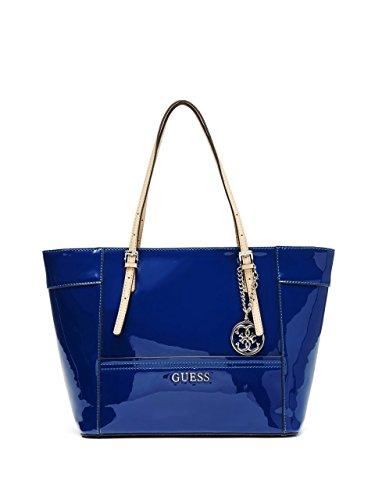 GUESS Women's Delaney Patent Small Classic Tote