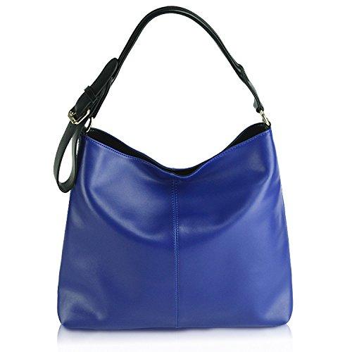 Women Genuine Leather Handbag Satchel Hobo Tote