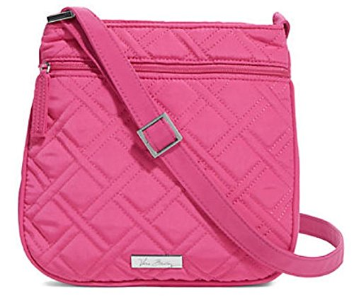 Gorgeous Vera Bradley Petite Double Zip Hipster in Fuchsia Hot Pink
