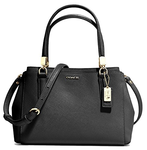 COACH 30402 Madison Mini Christie Carryall Shoulderbag in Light Gold Black