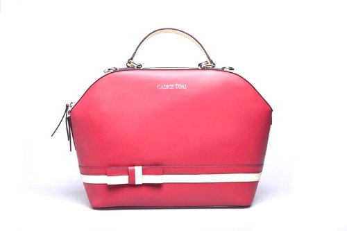 Authentic cadice toal shoulder bag tote red 7608 2014 new