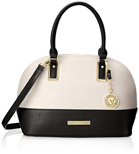 Anne Klein Shimmer Down Satchel Handbag