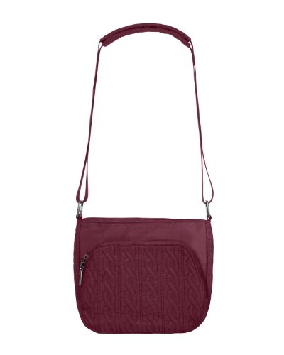 Baggallini Luggage Allure Satin Quilted Crossbody Bag