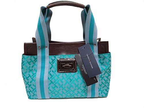 Tommy Hilfiger Women's Small Iconic Handbag (Green Alpaca)