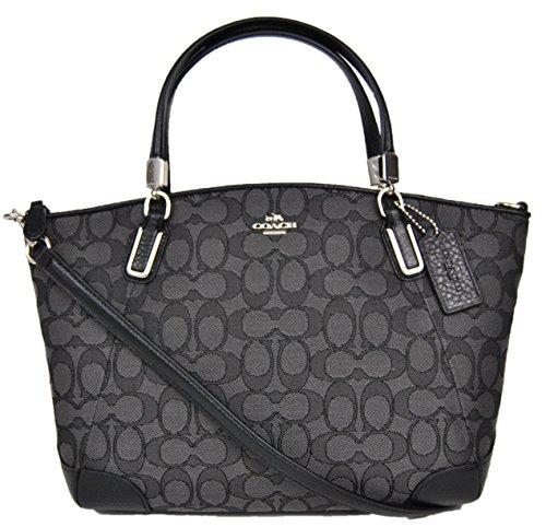 Coach Outline Signature Small Kelsey Satchel Shoulder Bag Handbag 36181
