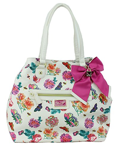 Betsey Johnson Convertible Tote Shoulder Bag, Floral
