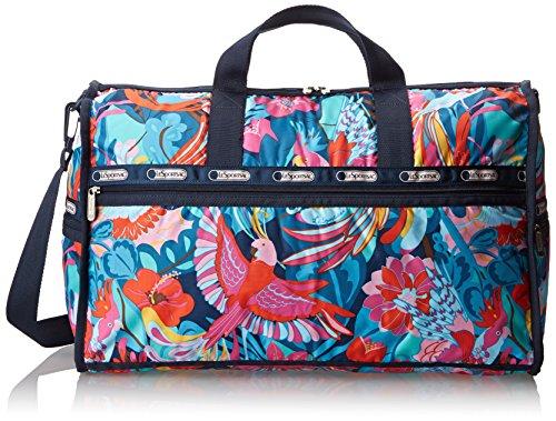 LeSportsac Large Weekender Handbag,Boca Chica Bright,One Size