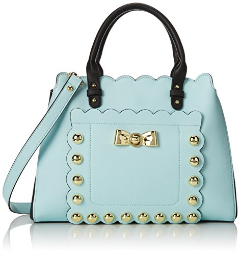 Betsey Johnson Studded Affair Satchel