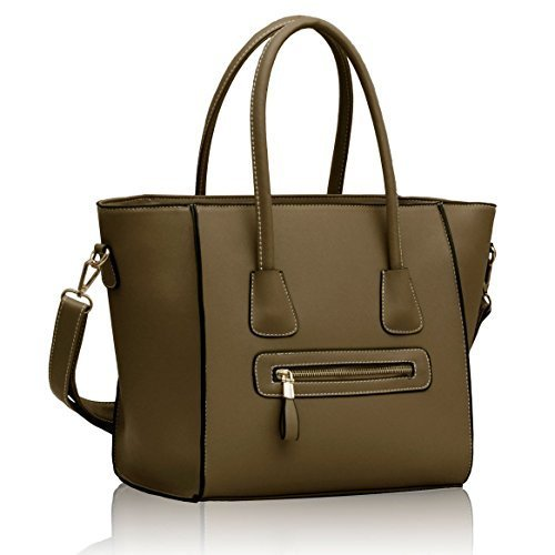 Handbags Nude Tan Fashion Shoulder Bag Designer Inspired Handbag with Long Strap