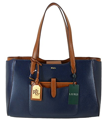 Lauren Ralph Lauren Handbag, Davenport Leather Shopper