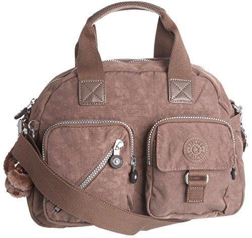 Kipling Defea Handbag Shoulder Bag Monkey Brown