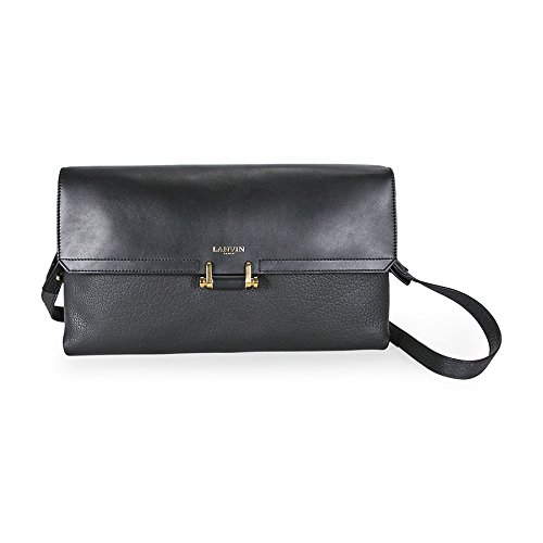 Lanvin Calfskin Clutch Bag – Black