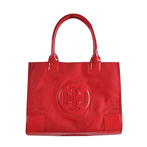 Tory Burch Red Nylon MINI Ella Tote