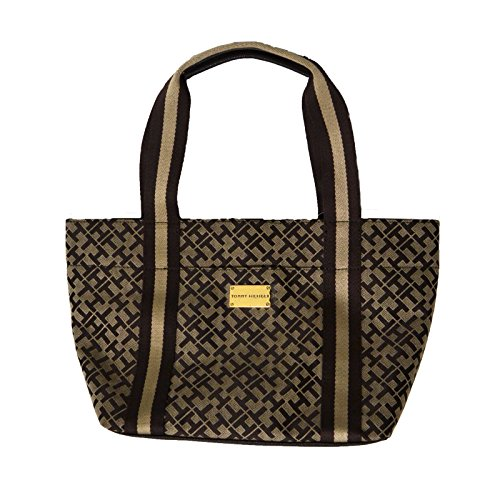 Tommy Hilfiger Small Tote Purse in Brown