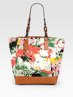 Milly Floral Tote Bag