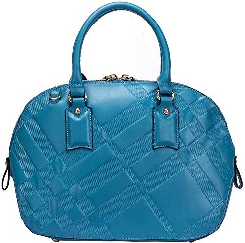Heshe Genuine Leather Shell Pack Bag Tote Single Shoulder Handbag for Women 2014 New