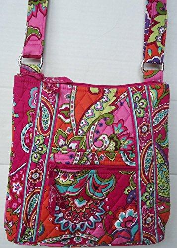 Vera Bradley Large Hipster Pink Swirls 2014 Summer Pattern