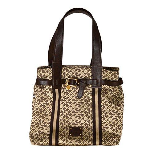 Tommy Hilfiger NS Tote Brown Handbag