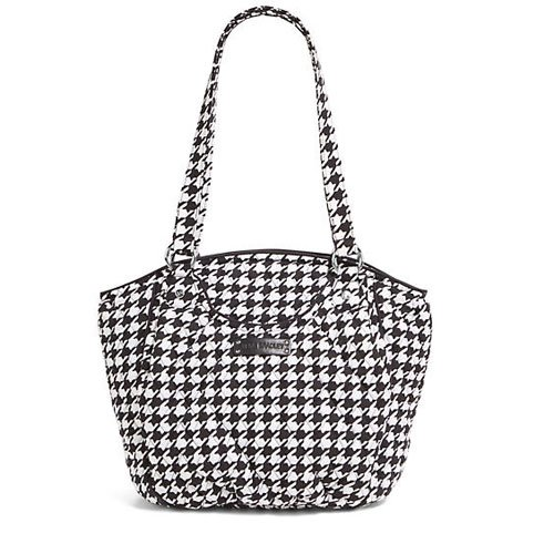 Vera Bradley Glenna Shoulder Bag (Midnight Houndstooth)
