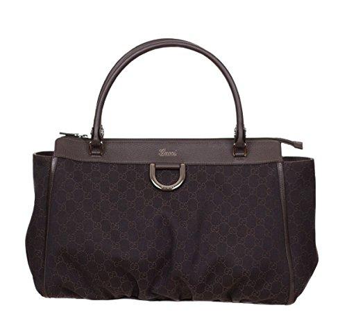 Gucci Women's Monogram GG Large Brown Handbag Purse