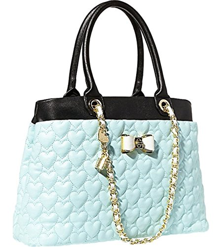 Betsey Johnson BJ43940 Mint Be My Bow Shopper