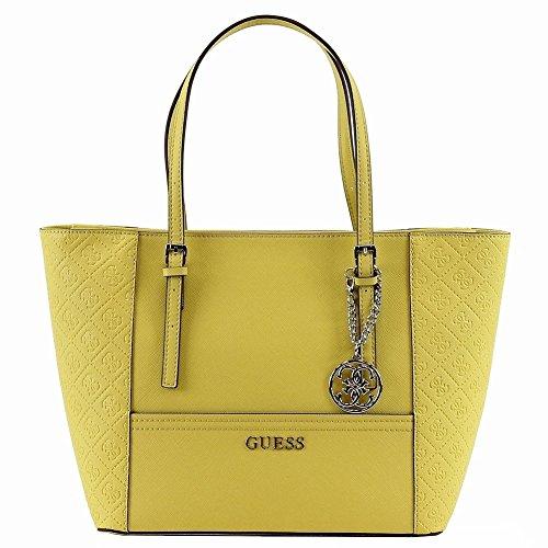Guess Women's Delaney SE453522 Sun Small Classic Tote Handbag