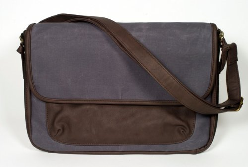 SoYoung Diaper Clutch in Waxed Canvas – Charcoal