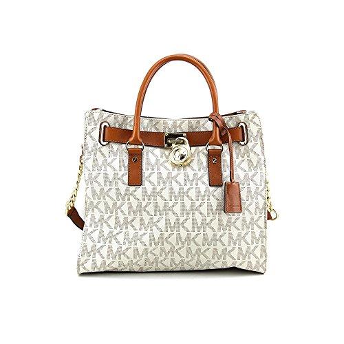 0a35e4673c0 Michael Kors Hamilton MK Logo Satchel Bag