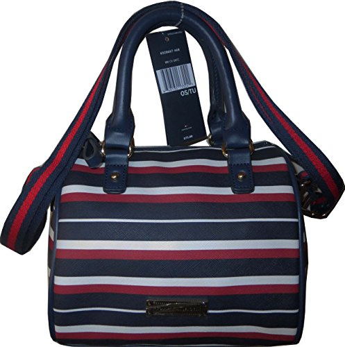 Tommy Hilfiger Box Handbag Crossbody X Bag PVC Navy