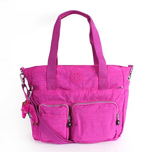 Kipling Sady Tote Handbag Pink Orchd
