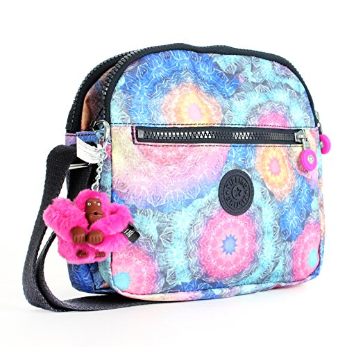 Kipling Keefe Print Shoulder Bag Crossbody Cosmicwvpt
