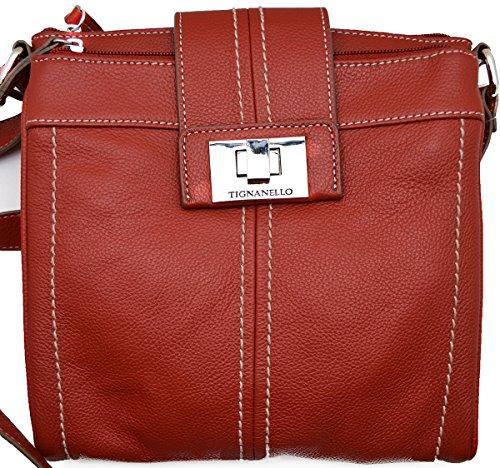Tignanello Fab Funciton N/s Cross Body Bag,rouge,one Size