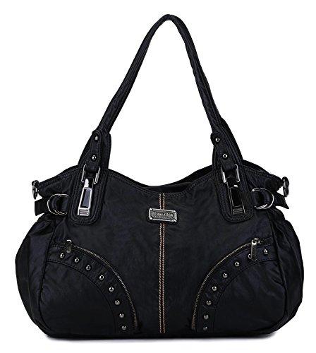 Scarleton Studded Front Pocket Shoulder Bag H1522