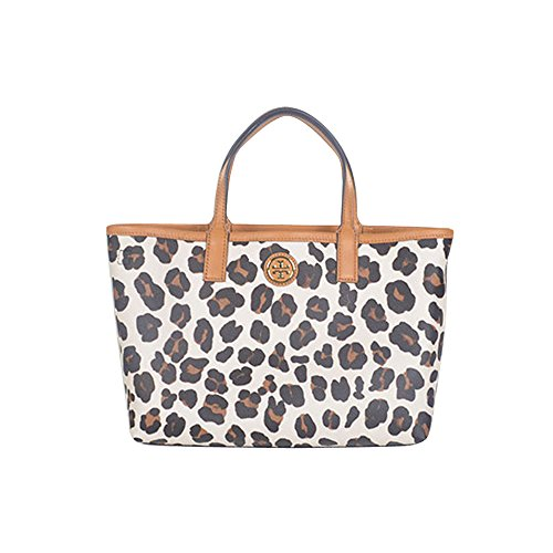 Tory Burch Kerrington Mini Shopper 11149611 Ocelot Leopard Print