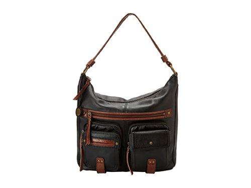 The SAK Iris Multipocket Hobo Shoulder Bag, Black