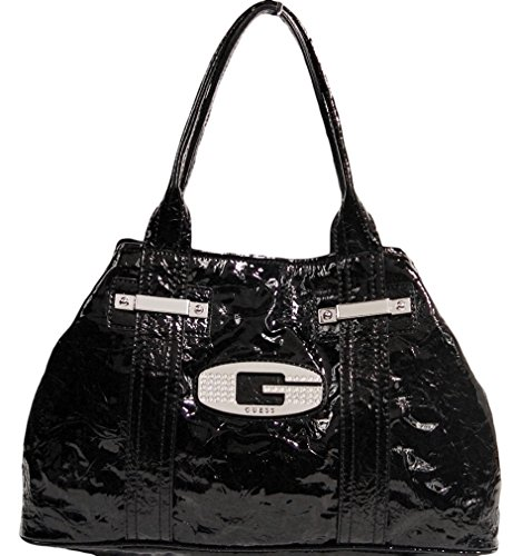 GUESS Glow Candy Tote Bag Handbag Purse, Black