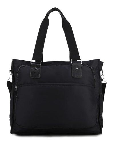 Scarleton Squared Nylon Tote Bag H1506
