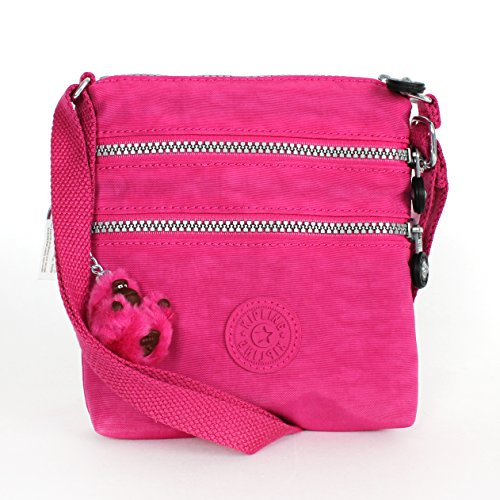 Kipling Alvar X-small Cross Body Mini Bag in Very Berry