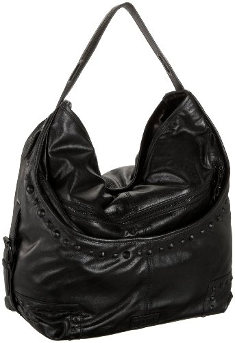 BCBGMAXAZRIA Indie Rock Studded Large Hobo