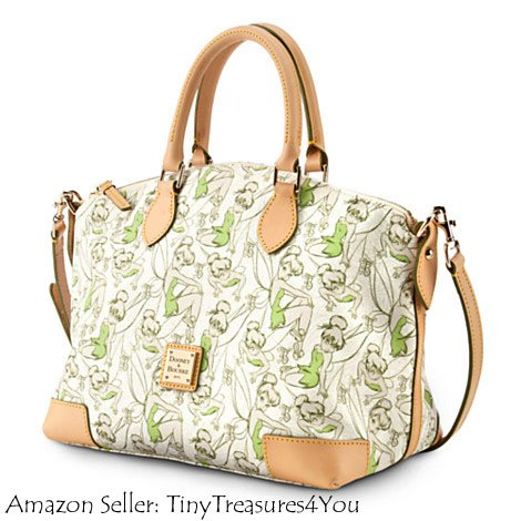 2014 Disney Dooney & Bourke Half Tinker Bell Half Marathon Satchel/Shoulder Bag Purse