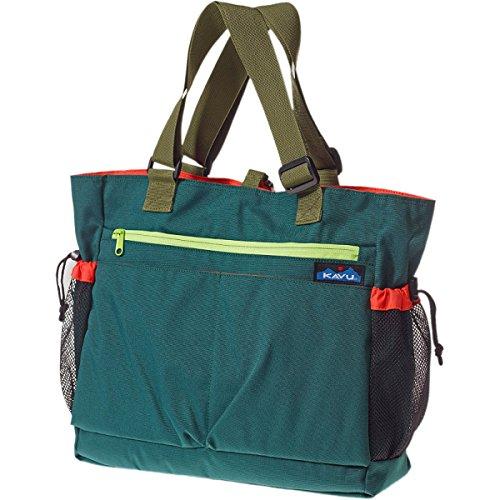 Kavu Happy Hauler Womens Hunter Green Bag One Size