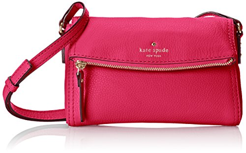 kate spade new york Cobble Hill Mini Carson Cross Body Bag, Deep Pink, One Size