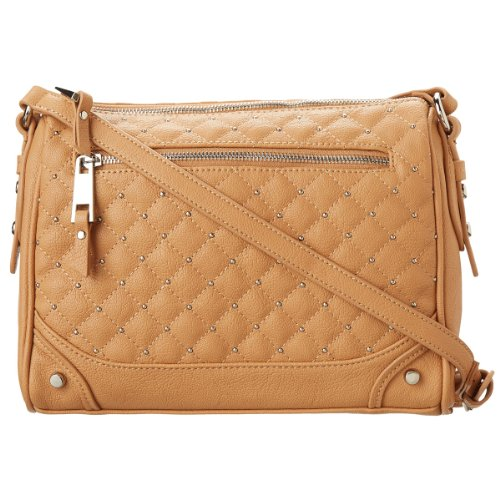 Jessica Simpson Brigitte Crossbody Bag-Almond