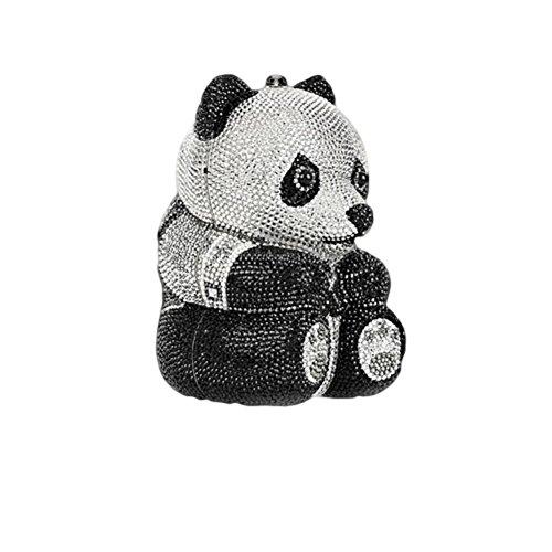 Cinnamon Evenings Women's Panda Love Clutch Multi-color