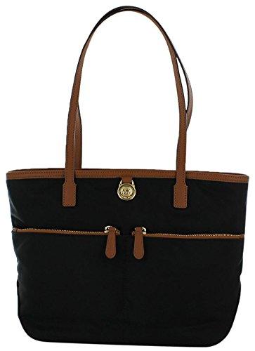 Michael Kors Kampton Medium Pocket Nylon Tote Handbag