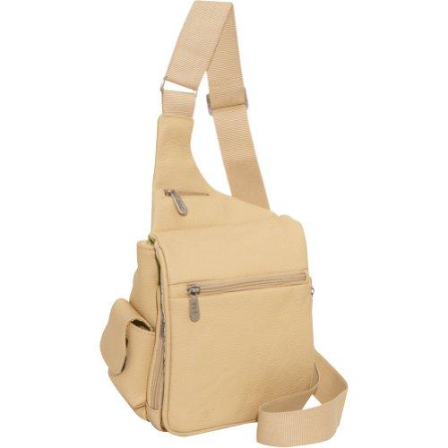 AmeriLeather Leather Convenient Travel Bag